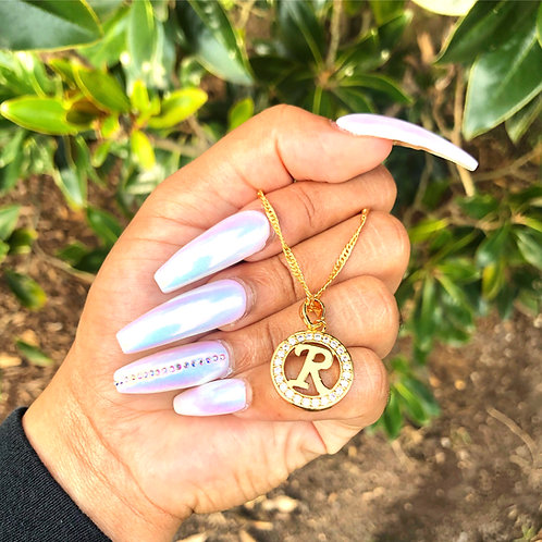 Diamond rhinestone pendant