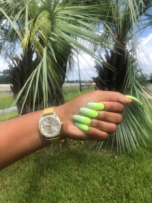 Adjustable Gold watch