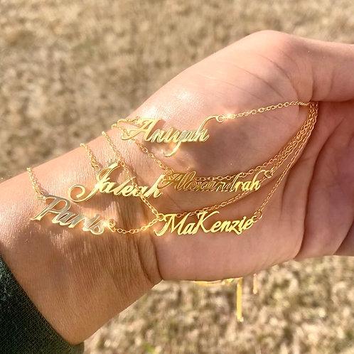 Stylish Name Chain