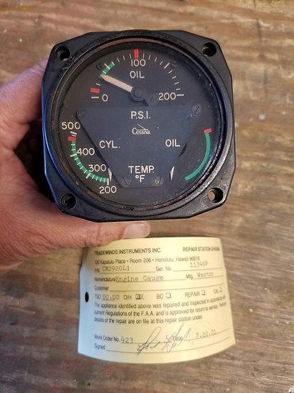 Cessna 3 in 1 gauge