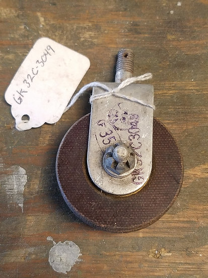 vintage aircraft pulley and bracket