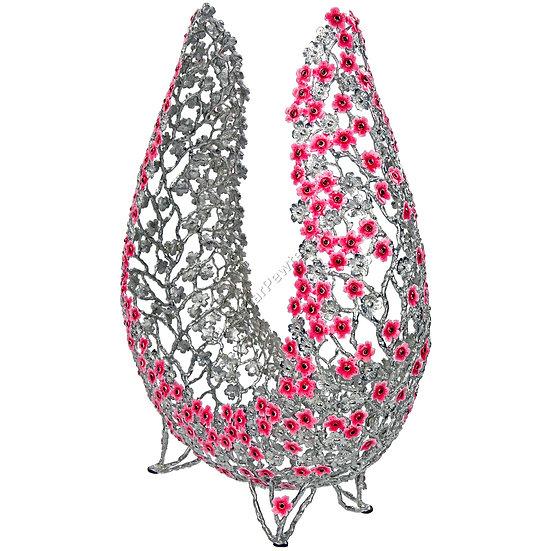 Objet D'Art - Horseshoe, Sakura Flowers