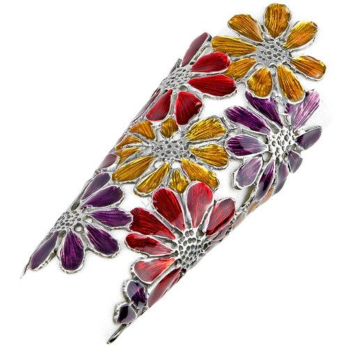 Napkin Ring - Daisies, Coloured