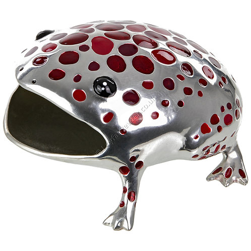 Business Card Holder - Frog, Red