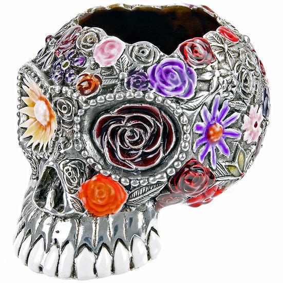 Pot - Skull, Coloured