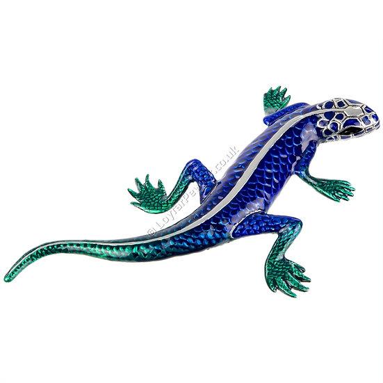 Paperweight - Lizard, Blue