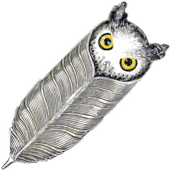 Jewellery Tray - Owl, Long