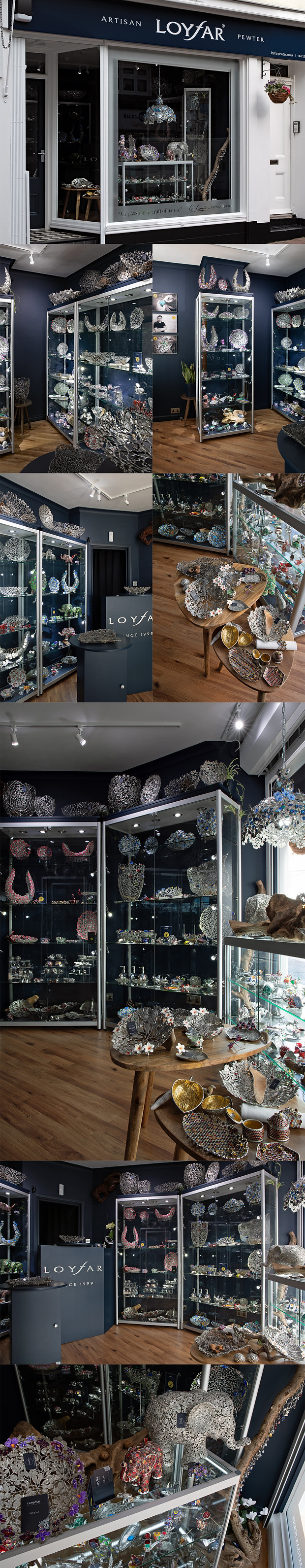 Loyfar Pewter UK. We are proud to announce that on 29 October 2020 Loyfar (UK) openedits first boutique in the unique and vibrant North Laine district of Brighton, on the English south coast.