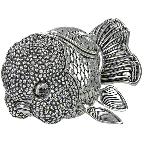 Trinket Box - Goldfish, Large