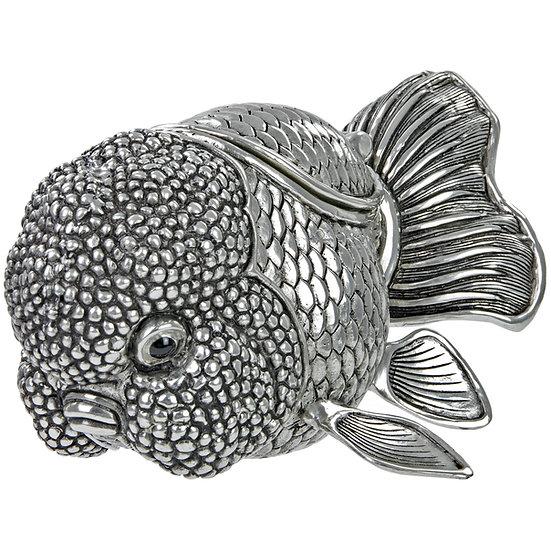 Trinket Box - Goldfish, Large