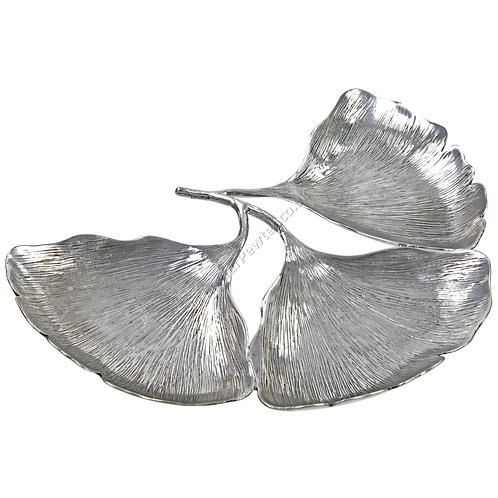 Jewellery Tray - Three Ginkgo Leaves