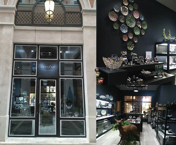 Loyfar Pewter UK. The newest Loyfar (Thailand)boutique, in the newly-opened One Nimmanshopping complex, Chiang Mai.