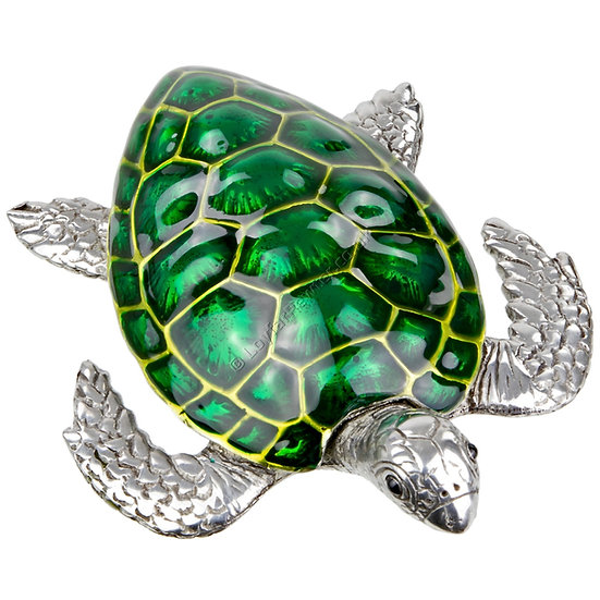 Paperweight - Turtle, Green