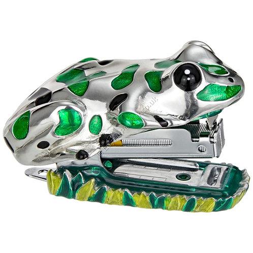 Stapler - Frog, Green