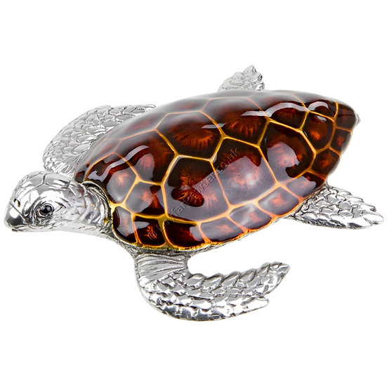 Paperweight - Turtle, Brown