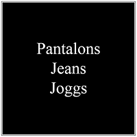 PANTALONS JEANS JOGGS HOMMES SWANY ENZO