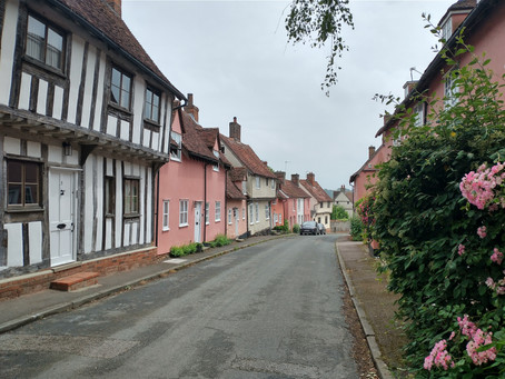 Day trip from Cambridge by public transport: Bury St Edmunds and Lavenham