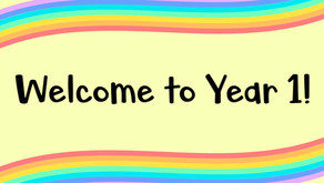 Welcome to Year 1!