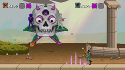 Fighting the Skellycopter