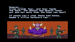 Story cutscene