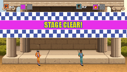 Stage Clear! And some dancing