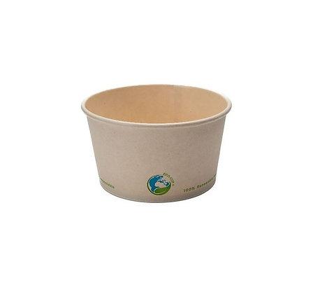 12oz Compostable Soup Cup - Kraft