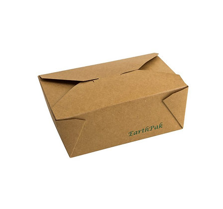 #8 EarthPak Food Box