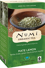 Numi Tea Mate Lemon