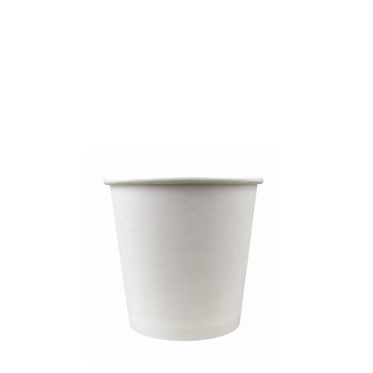 4oz Paper Hot Cup - White