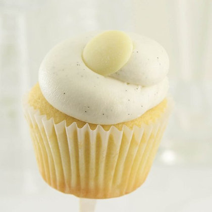Sweet Street Vanilla Bean Cupcake