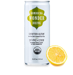 Kombucha Wonder Drink Green Tea & Lemon