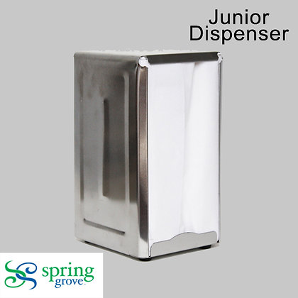Spring Grove-1PLY JR. Dispenser Napkin Tall Fold-White