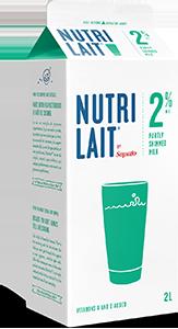 Nutrilait 2% Partly skimmed milk 2L