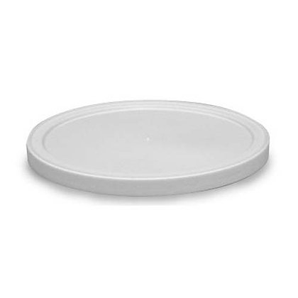 Table Accent-Flush Lid - LLDPE - White