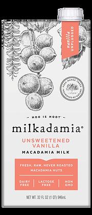 Milkadamia Unsweetened Vanilla