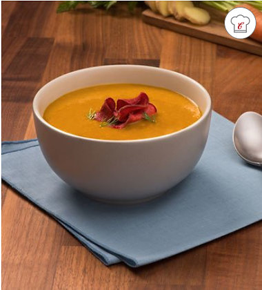 Verve® Carrot Parsnip Bisque With Ginger