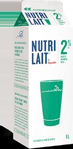 Nutrilait 2% Partly skimmed milk 1L