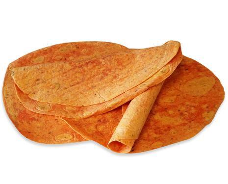 """Chef Nutri Tomato Basil 12"""" Tortillas"""