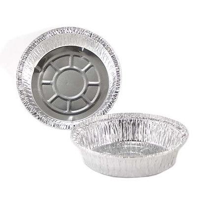 """Chef Elite - Round Aluminum Containers - 7"""" dia. - 30 Gauge"""