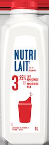 Nutrilait 3.25% Homogenized milk 1L
