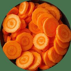 Carrots Sliced - Grade A