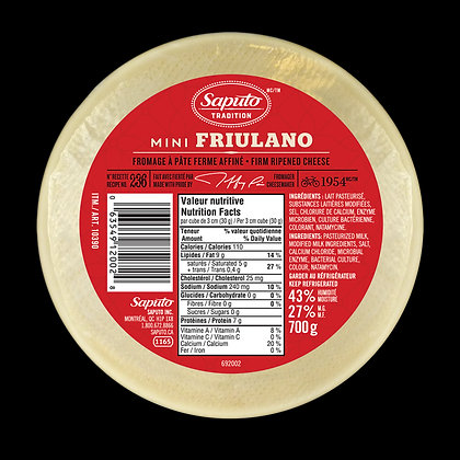 Saputo Friulano 700 G