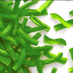 Green Pepper Strips