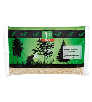 Delice de la Foret Valli White quinoa seeds