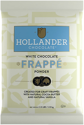 Hollander White Chocolate Frappe