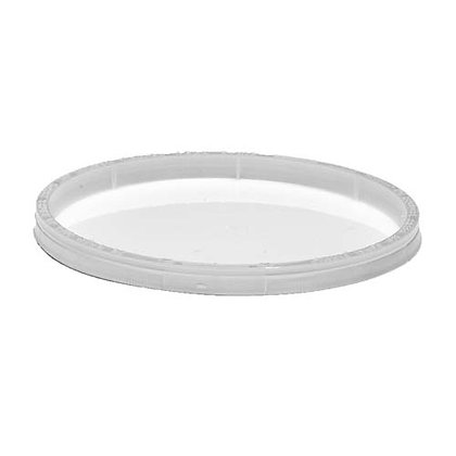 Table Accent-Tamper Resistant Lid - LLDPE - Translucent