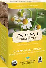 Numi Tea Chamomile Lemon