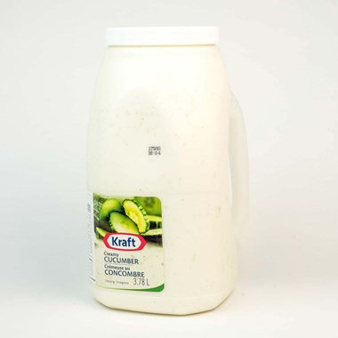 Kraft Creamy Cucumber Salad Dressing 3.78 L
