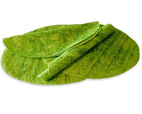 "Chef Nutri Spinach and Herbs 12"" Tortillas"
