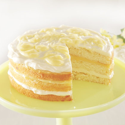 Sweet Street Lemonade Cake with Meyer Lemon Curd
